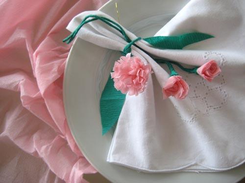 Comment r aliser une fleur de papier anniversaire enfant - Activite avec papier crepon ...